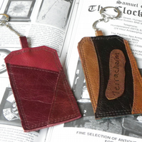 Real Leather Key Fobs (Code: LKFB013)