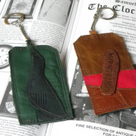 Real Leather Key Fobs (Code: LKFB014)