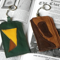 Real Leather Key Fobs (Code: LKFB016)
