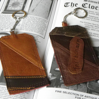 Real Leather Key Fobs (Code: LKFB017)