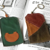 Real Leather Key Fobs (Code: LKFB018)