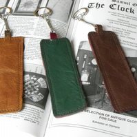 Real Leather Key Fobs (Code: LKFB002)