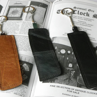 Real Leather Key Fobs (Code: LKFB005)