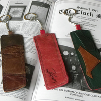 Real Leather Key Fobs (Code: LKFB006)