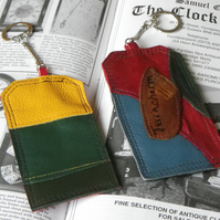 Real Leather Key Fobs (Code: LKFB007)