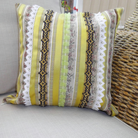 STRIPED CUSHION  free postage