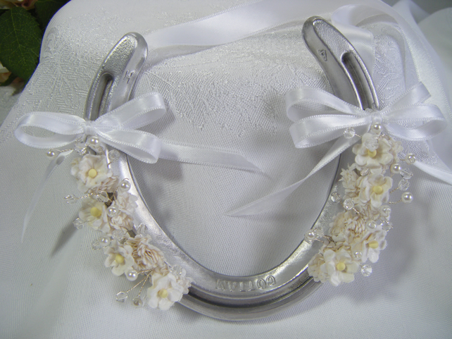 Real Horseshoe Lucky Wedding Gift Handmade Folksy