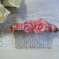 Wedding bridal prom tiara hair comb