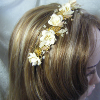 Wedding bridal prom tiara headband