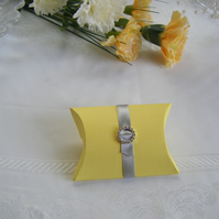 Readymade wedding favours custom made to your requirements - Yellow