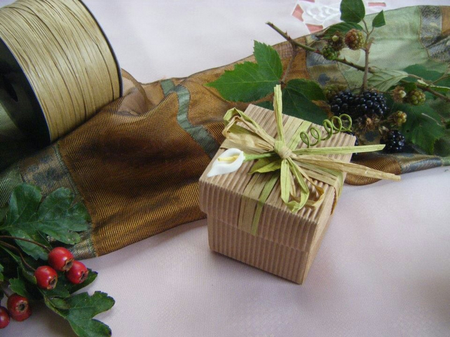 Readymade wedding favours custom made to your requirements - Rustic