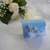 Readymade wedding favours custom made to your requirements - sky blue