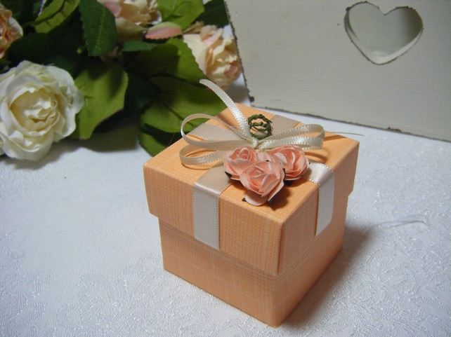 Readymade wedding favours custom made to your requirements - Orange
