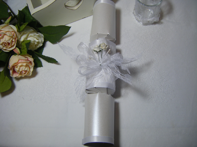 Readymade wedding favours custom made to your requirements - Crackers