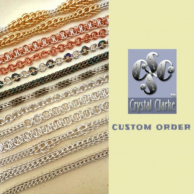 Custom Order For A.B - Chainmaille Necklace