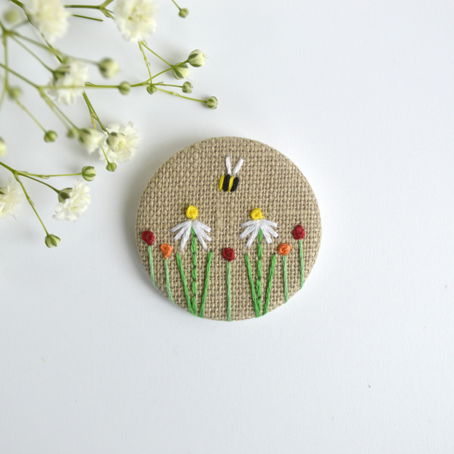 cross stitch or embroidery 2 Pcs Wood Charm Pendants Flower Natural