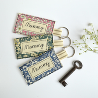 Mummy keyring, mummy key ring, personalised keyring, mother's day gift