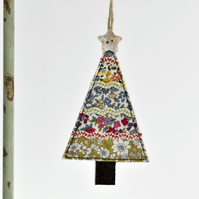 Handmade Christmas Tree hanging tree decoration