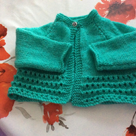 18 inch Sea Green Short Jacket