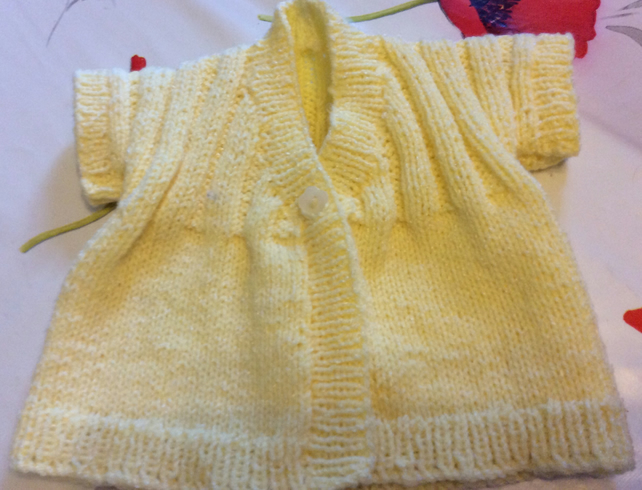 16 inch Little Sunshine Cardigan