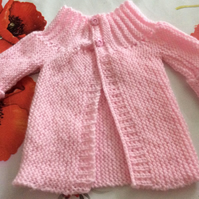 16 inch Pretty in Pink Baby Jacket