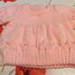 18 inch Pink Oversized Jumper