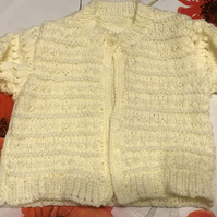 16 - 18 inch Little Lemon Twist Cardigan