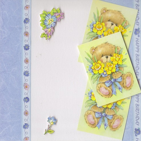 Bears and Daffodils (HB110)