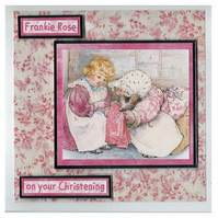 Mrs Tiggywinkle Christening Card (CHR170)