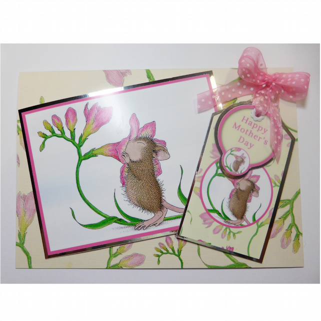 House Mouse Mother's Day Card (MD333)
