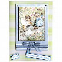 Tom Kitten Christening Card (CHR174)