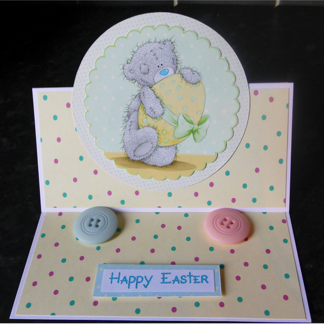 Easter Tatty Teddy Easel (EAS285)