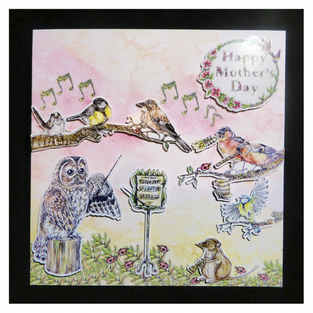Dawn Chorus Mother's Day Card (MD370)