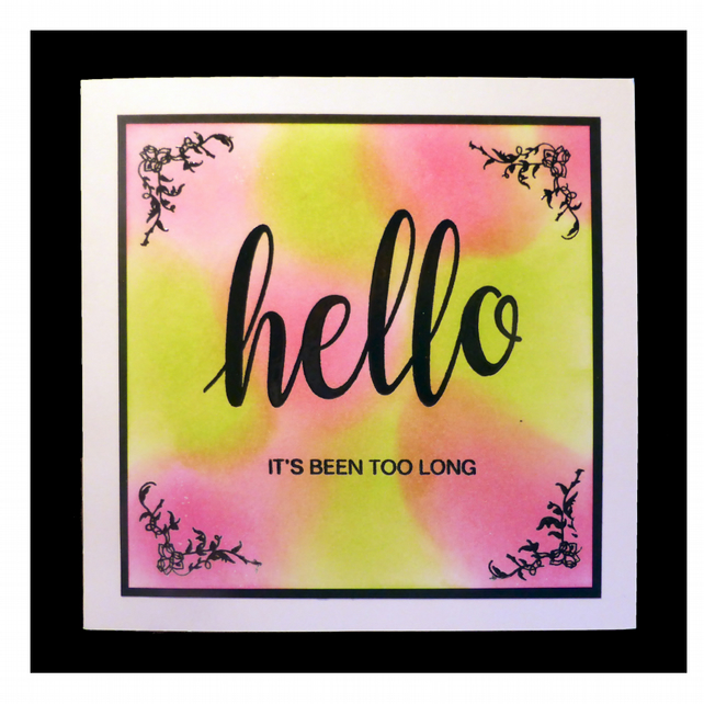 Bright Sentiment Card (GEN009)