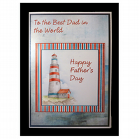 Lighthouse to the Best Dad (FD307)
