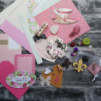 Scrapbooking pack, journal,  planner, inspiration kit