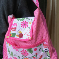 Beautiful 'Daisy' lightweight cotton tote bag
