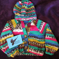 colourful patterned baby set