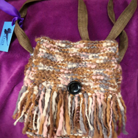 Pandora woolly fringed bag