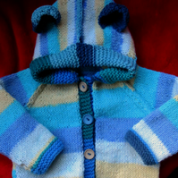 Little Blue Ted Hoodie