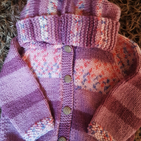 Chunky Knit Baby Hoodie