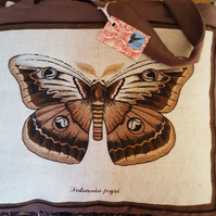 Butterfly Padded Shopping Bag
