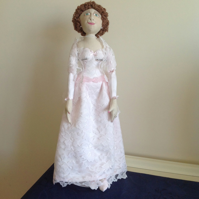 MERYL - a hand made cloth doll