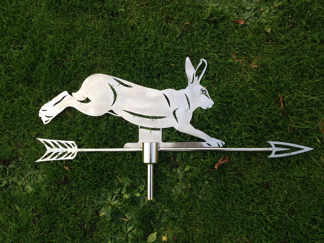 Weathervane - Running Hare