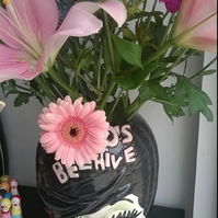 MADE TO ORDER 'BLOOMIN BELLE 60s BEEHIVE VASE'