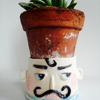 CERAMIC CECIL PLANTER OR BOWL