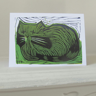 'Fat Cat' card