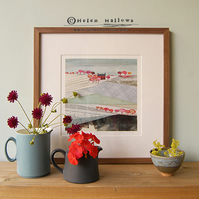 Red House - Limited Edition Giclee Print
