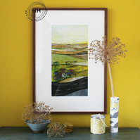 Faded Summer - Limited Edition Giclee Print