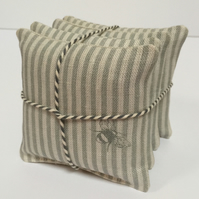 Stack of Lavender Sachets - Bumble Bee